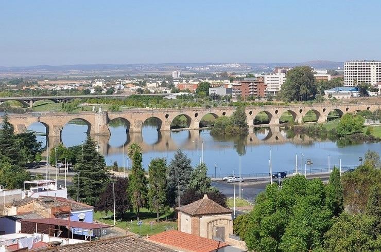 Vista de Badajoz
